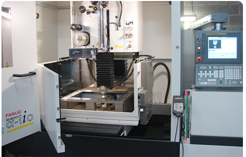 Fanuc Wire Cut Machine - Precision Engineering